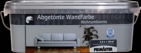 Primaster Wandfarbe Wohnambiente ,  stahl 2,5 l