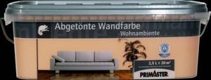 Primaster Wandfarbe Wohnambiente ,  terracotta, 2,5 l