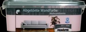 Primaster Wandfarbe Wohnambiente ,  wildrose, 2,5 l