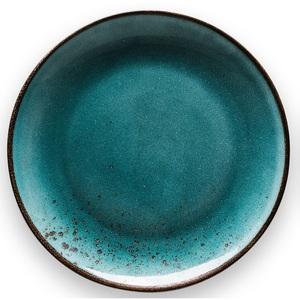 CREATable Teller flach /Speiseteller Ø 27 cm NATURE COLLECTION Water wasserblau