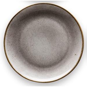 CREATable Teller tief /Suppenteller Ø 22 cm NATURE COLLECTION Stone Grau