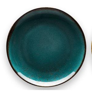 CREATable Teller flach /Kuchenteller Ø 21 cm NATURE COLLECTION Water wasserblau