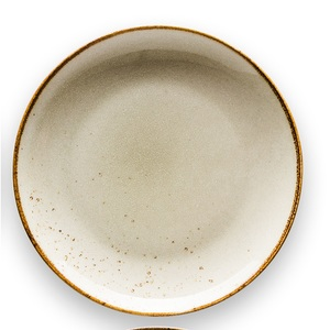 CREATable Teller flach /Kuchenteller Ø 21 cm NATURE COLLECTION Earth Sandbeige