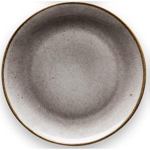 CREATable Teller flach /Speiseteller Ø 27 cm NATURE COLLECTION Stone Grau
