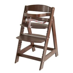 Treppenhochstuhl Sit up 3 - Braun - gebeizt, Roba