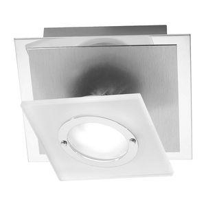 EEK A++, LED-Deckenleuchte Rotator - Aluminium - Silber, Paul Neuhaus