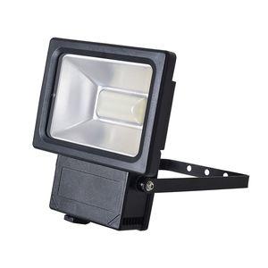 EEK A+, LED-Außenleuchte Strahler IV 54-flammig - Grau Aluminium, Näve
