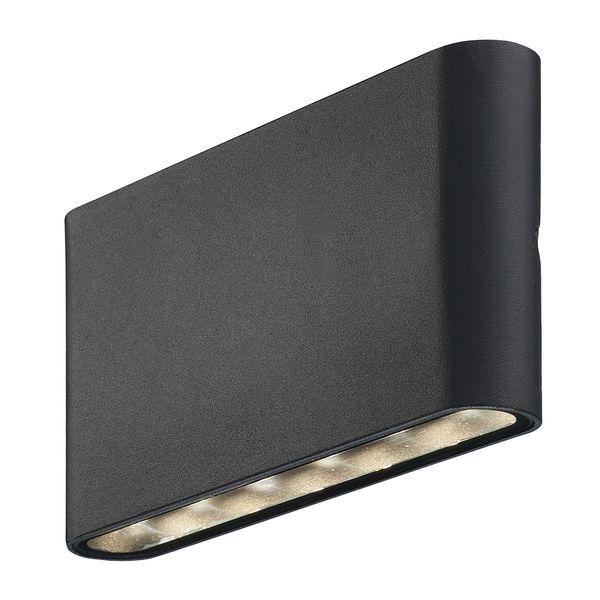 EEK A+, LED-Außenleuchte Kinver II - Glas / Stahl - 2-flammig, Nordlux