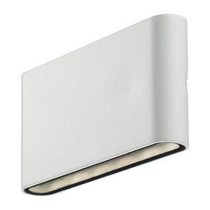 EEK A+, LED-Außenleuchte Kinver I - Glas / Stahl - 2-flammig, Nordlux