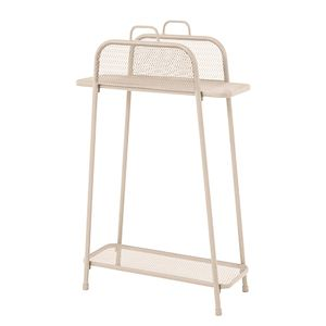 Regal Shelfo I - Stahl - Beige, Garden Pleasure