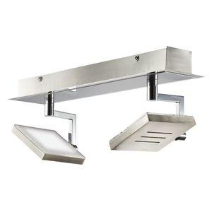 EEK A+, LED-Spotschiene SHINE-LED - Silber Matt, Fischer Leuchten