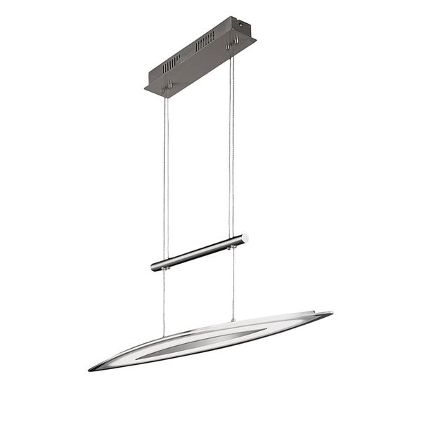 EEK A+, Pendelleuchte AVIGNON - Metall/Kunststoff - 1-flammig, Wofi