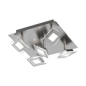 EEK A+, Deckenleuchte CHOLET - Metall/Kunststoff - 5-flammig, Wofi