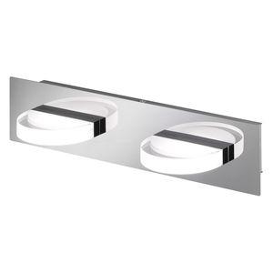 EEK A+, LED-Deckenleuchte Estera - Metall / Acrylglas - 2-flammig, Wofi