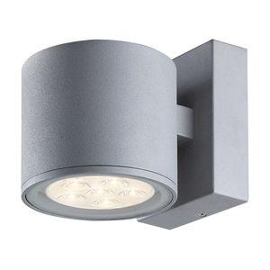 EEK A+, Außenleuchte Morris - Grau Kunststoff, Wofi