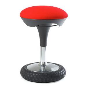 Bürohocker Sitness 20 - Webstoff - Rot, Topstar