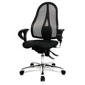 Bürodrehstuhl Sitness 15 - Schwarz, Topstar
