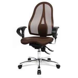 Bürodrehstuhl Sitness 15 - Dunkelbraun, Topstar