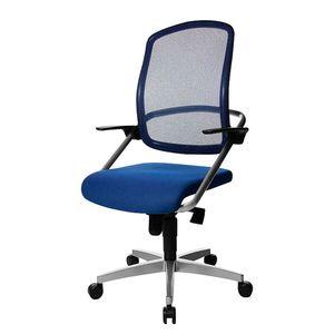 Bürodrehstuhl Smoove - Textilbezug in Blau, Topstar
