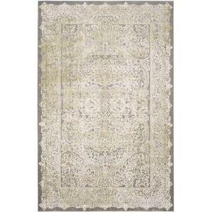 Teppich Celine - Kunstfaser - Beige / Grau - 121 x 170 cm, Safavieh