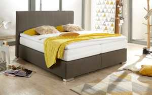 Meise - Boxspringbett Isa in taupe
