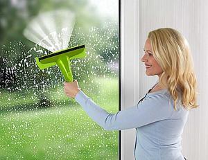 Wenko Sprüh-Fensterwischer Reinigen ohne Putzeimer