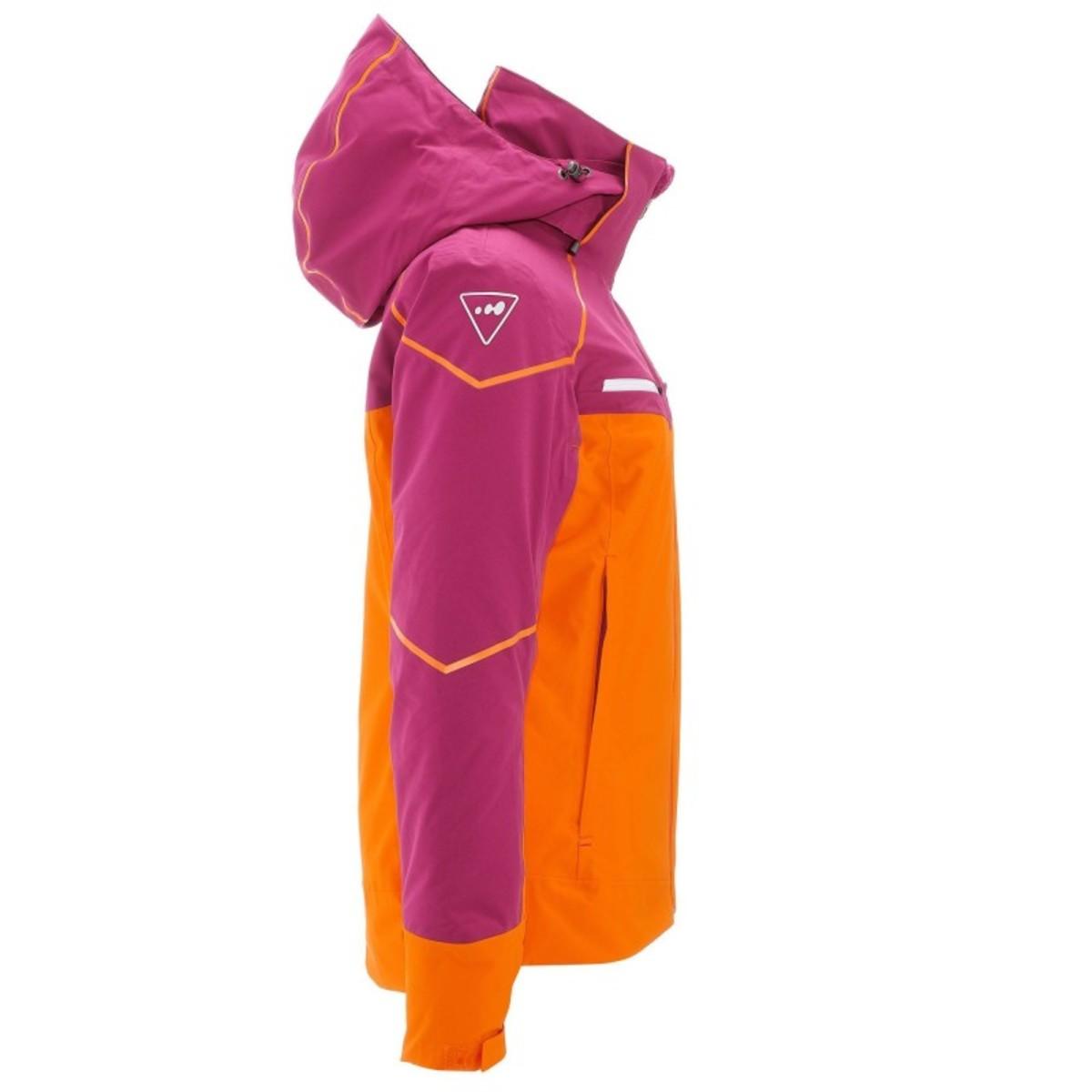 Bild 2 von WED´ZE Skijacke Slide 700 Damen lila/orange, Größe: XS