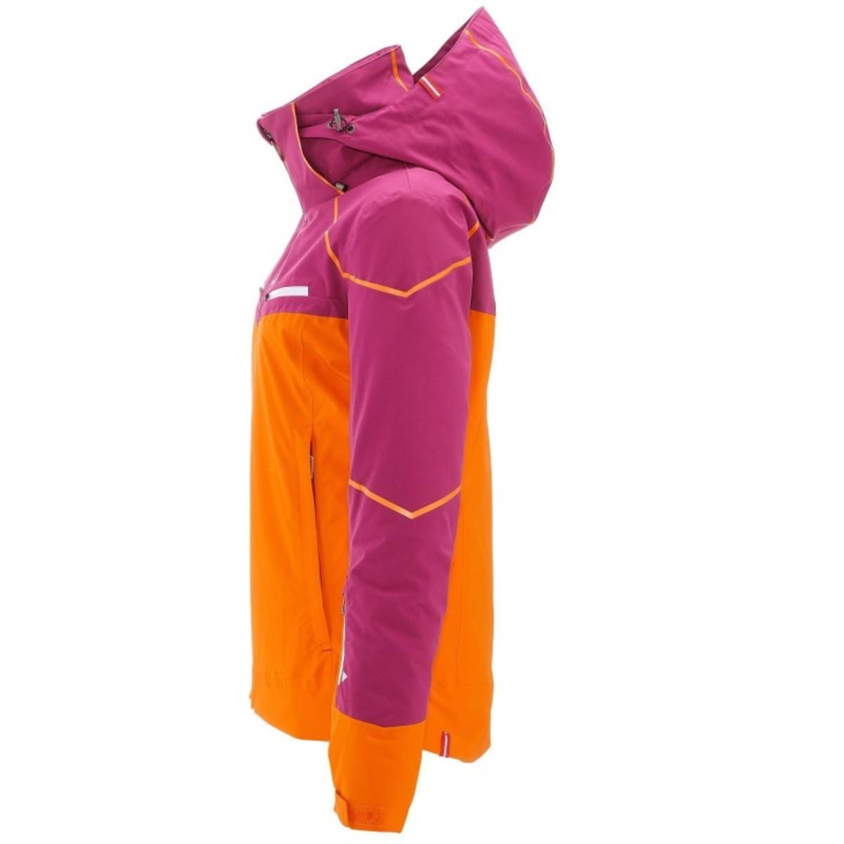 Bild 4 von WED´ZE Skijacke Slide 700 Damen lila/orange, Größe: XS
