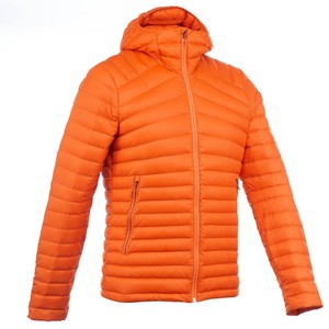 QUECHUA Daunenjacke Full Down Herren orange, Größe: M