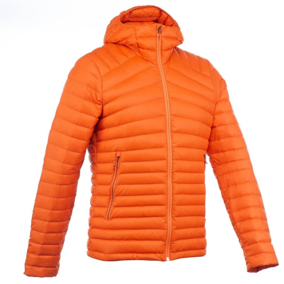 Bild 1 von QUECHUA Daunenjacke Full Down Herren orange, Größe: M