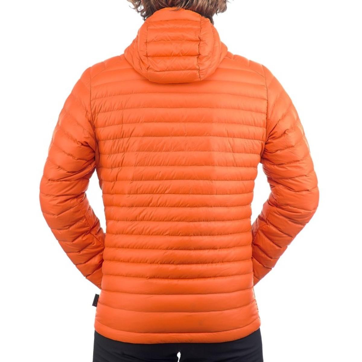 Bild 5 von QUECHUA Daunenjacke Full Down Herren orange, Größe: M