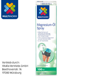 MULTINORM Magnesium-Öl Spray