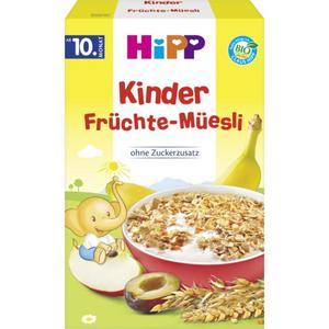 HiPP Bio Kinder Früchte-Müesli 1.00 EUR/100 g (6 x 200.00g)