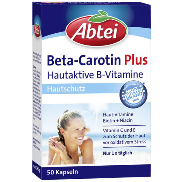 Abtei Beta-Carotin Plus Kapseln 20.46 EUR/100 g