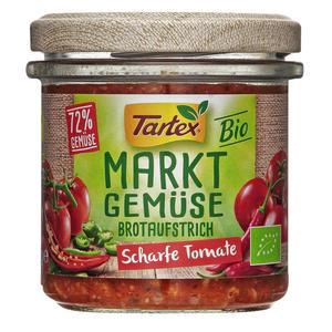 Tartex Bio Marktgemüse Brotaufstrich Scharfe Tomate 1.92 EUR/100 g