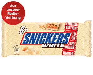 Snickers®  White, Limited Edition