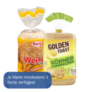 Golden Toast Toasties oder Harry Toastbrötchen
