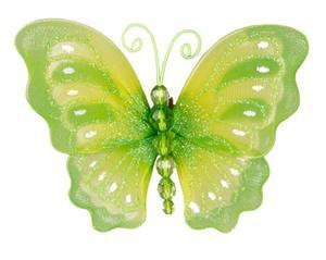 Schmetterling mit Metallklammer