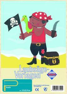 Laubsägevorlage Pirat