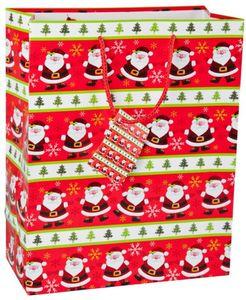 Geschenktasche - Nikolaus - 26x32,5x12,5 cm