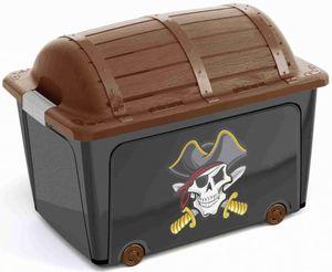 Ordnungsbox - Schatzkiste Pirat - 50L