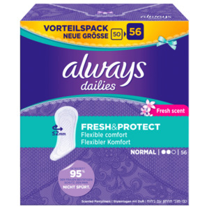 Always Vorteilspack Fresh&Protect Slipeinlagen