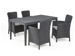 Allibert Dining Set Girona-Miami, 5-teilig