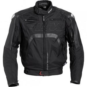 FLM            Sports Leder-/Textiljacke 3.0 schwarz