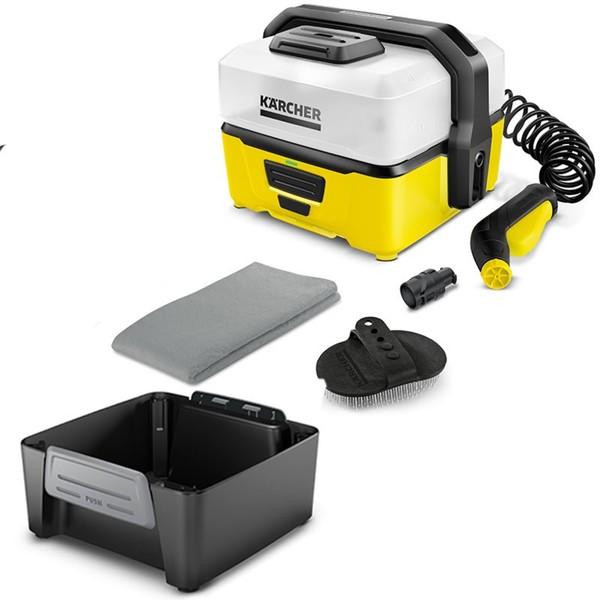 Kärcher Mobile Outdoor Cleaner OC 3 mit Pet Box