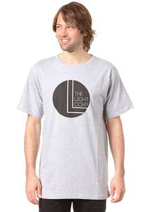 Light Black Dot - T-Shirt für Herren - Grau