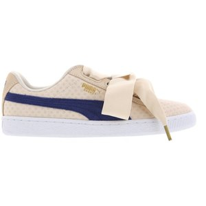 Puma BASKET HEART DENIM - Damen Sneaker