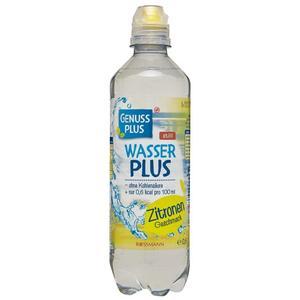 GENUSS PLUS Wasser Plus Zitronen-Geschmack 0.98 EUR/1 l (24 x 500.00ml)