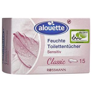 alouette feuchte Toilettentücher sensitiv classic