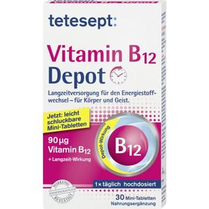tetesept Vitamin B12 Depot Mini-Tabletten
